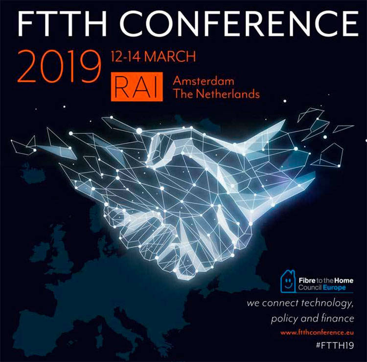 FTTH Conference in Amsterdam i770